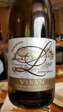 Lier, België: fantastische wijn, côtes du Rhone
