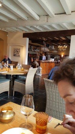 Lier, België: zicht in het restaurant binnen