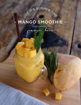 Ko Lan, Thailand: Mango smoothie