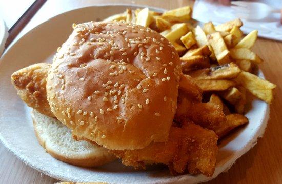 Skaneateles, Estado de Nueva York: Fried white fish