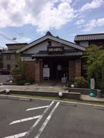 Toyonaka, Jepang: Outside view of Hiro coffee shop