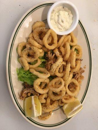 San Mateo, CA: Fried Calamari