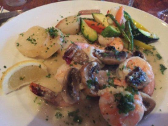 Lafayette, Californie : shrimp scampi