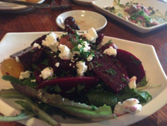 Lafayette, CA: beet salad