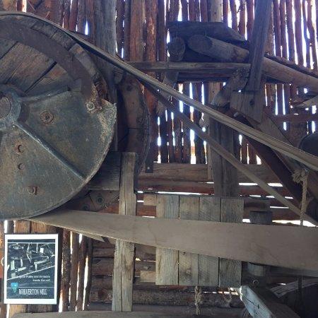 Hanksville, UT: The Wolverton Mill - interior