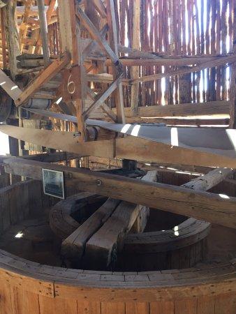 Hanksville, UT: The Wolverton Mill - interior (2)
