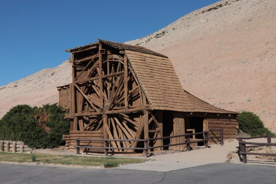 The Wolverton Mill in Hanksville, Utah