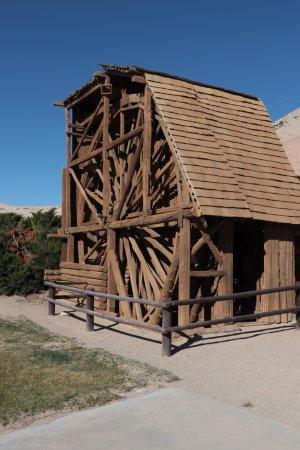 Hanksville, UT: The Wolverton Mill - historic mill