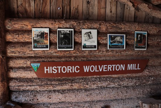 Hanksville, UT: The Wolverton Mill - info