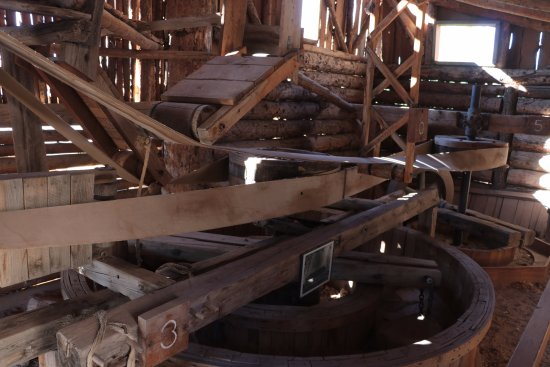 Hanksville, UT: The Wolverton Mill - engineering