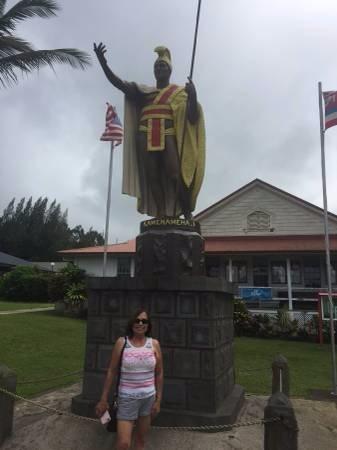 Kapaau, Hawái: Original Kamehameha statue