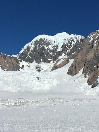 폭스 빙하 사진