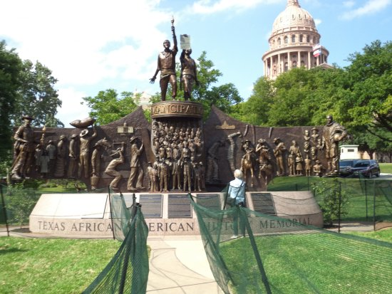 State Capitol: African American Memorial on Capitol Grounds