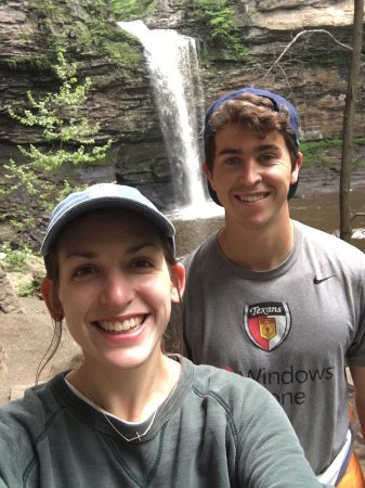 Petit Jean State Park: Hiking to the falls was a favorite