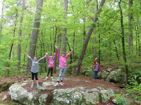 Petit Jean State Park: Hiking for kids too