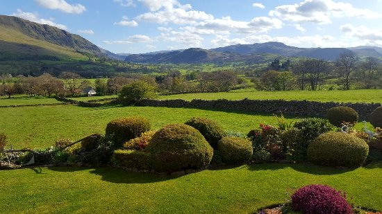 Threlkeld, UK: View from lounge