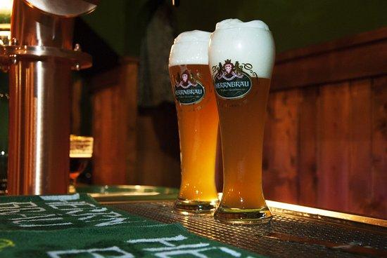 Massarosa, Italy: La nostra birra firmata Herrnbrau e Carlsberg