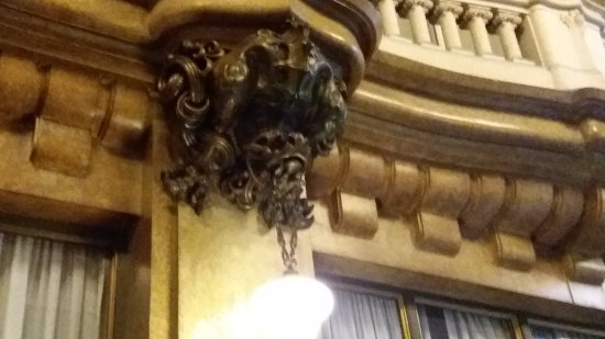Palacio Barolo (Palazzo Barolo): detalhe