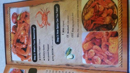 Palm Bay, FL: menu