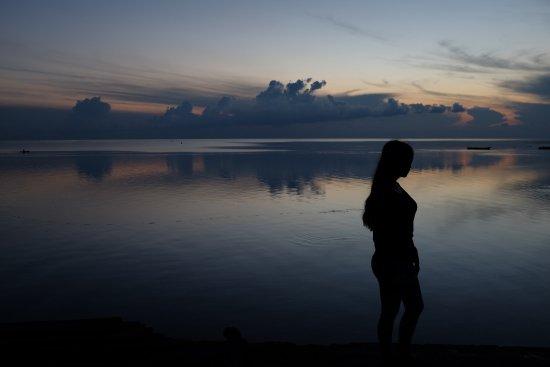 Wakatobi, Indonesia: Pagi di Dermaga Tomia