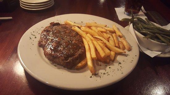 Franklin Chop House: Ribeye Steak