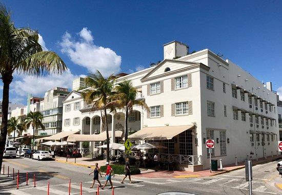 The Betsy - South Beach : The Betsy visto dal lato mare