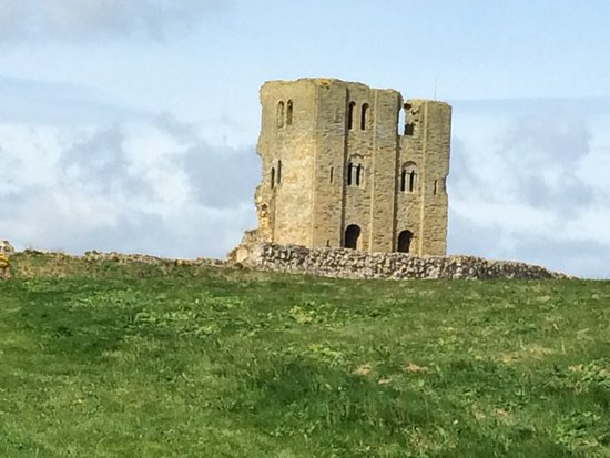 Scarborough Castle, the side you don't often see!