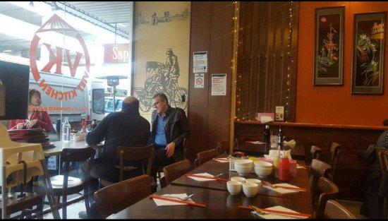 Footscray, ออสเตรเลีย: Table Settings