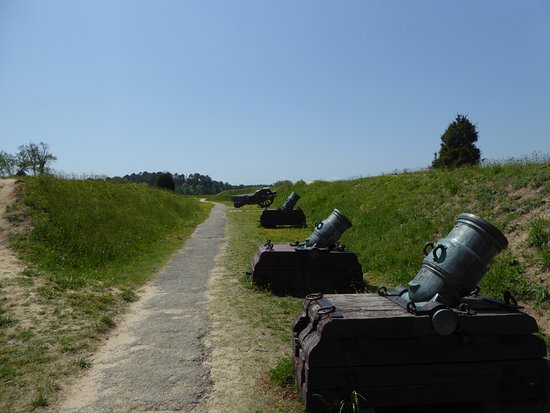 Yorktown, Βιρτζίνια: Cannons