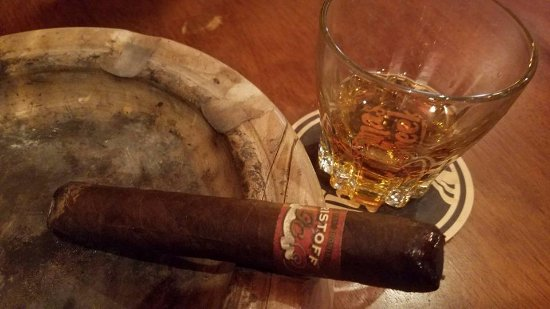 Greer, SC: A Cigar and a Glass of McCallan