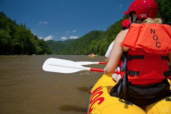 Marshall, NC: Spend your day on the cool waters of the French Broad.