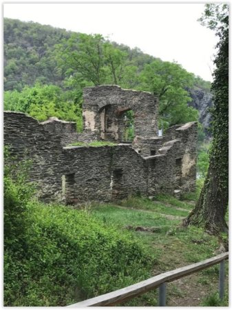 Harpers Ferry, Virginia Occidental: Church ruins, used as hospital during Civil War