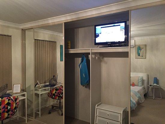 Aaratti House Tv Inside The Cabinet