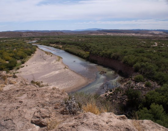 Boquillas Canyon: The Rio Grande River