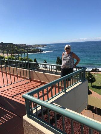 Coogee, Australien: Balcony view
