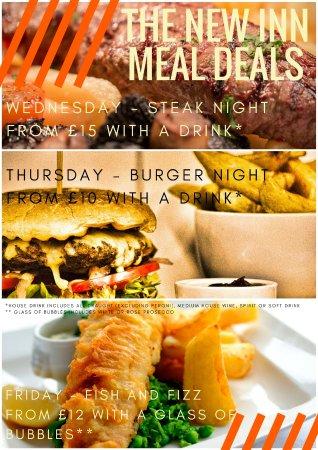 Minster, UK: Weekly Meal Deals