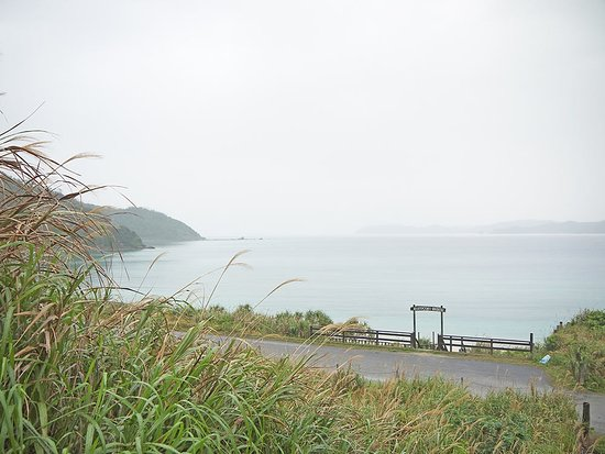 Oshima-gun Tatsugo-cho, Japan: вхдо на пляж