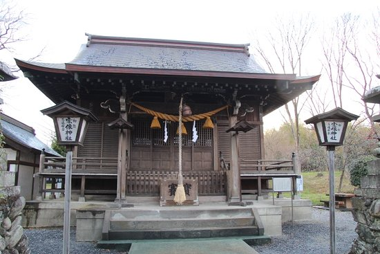 Yorii-machi, Giappone: 宗像神社 社殿