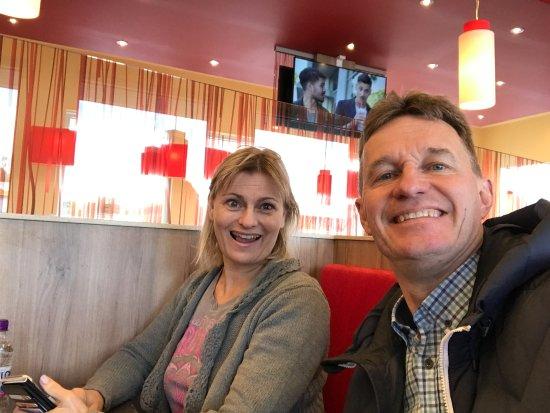 Ronneby, Zweden: restaurangen