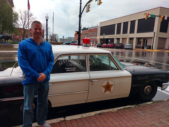 Mayberry Cafe: Fun photo op