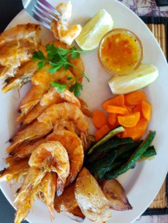 Salinas Beach Restaurant: Prawns