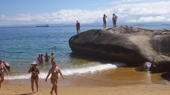 Vermelha Beach: Onde se pula para o mar