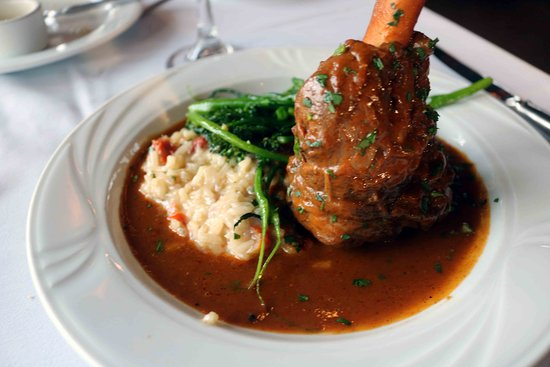 Tarragon at The Inn at Honey Run: Lamb Shank
