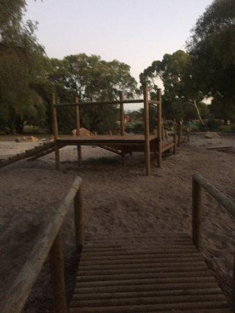 RAC Busselton Holiday Park: Open play area