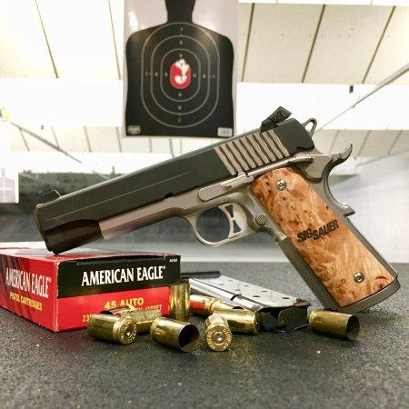 Murray, UT: Sig Sauer .45 ach at TNT Gun Range