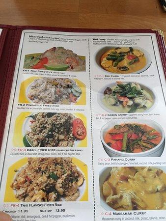 Thai Corner Kitchen Menu