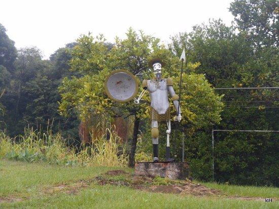 Escultura de Dom Quixote