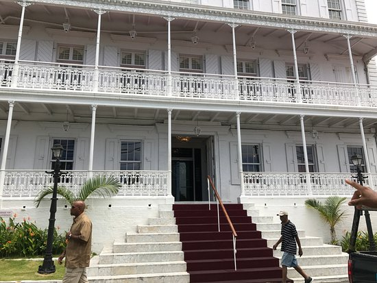 Blackbeard's Castle: Governor's Building