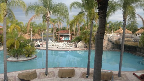 Caliente Resort and Spa : this is just one of the pools at this fine resort