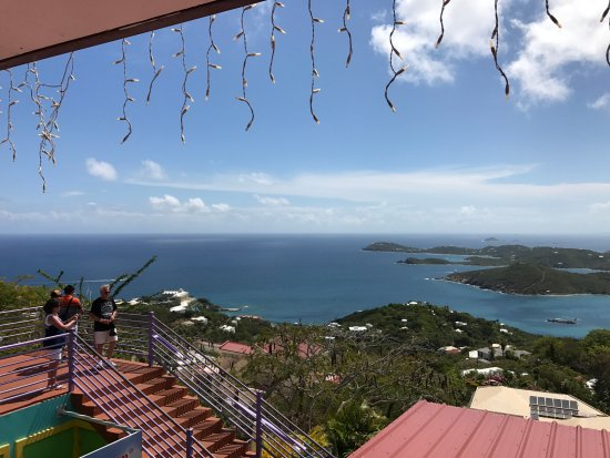 South Coast, St. Thomas: Beautiful day and the view